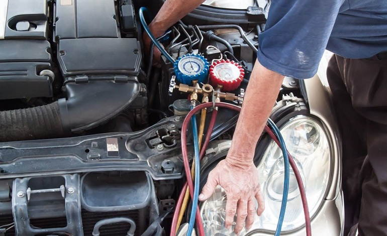 How to Check Oil in AC Compressor
