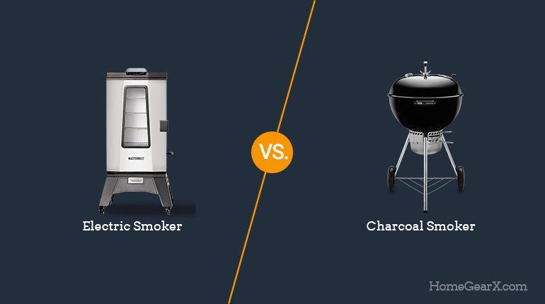 Electric vs. Charcoal Smoker