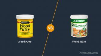 Wood Putty vs. Wood Filler